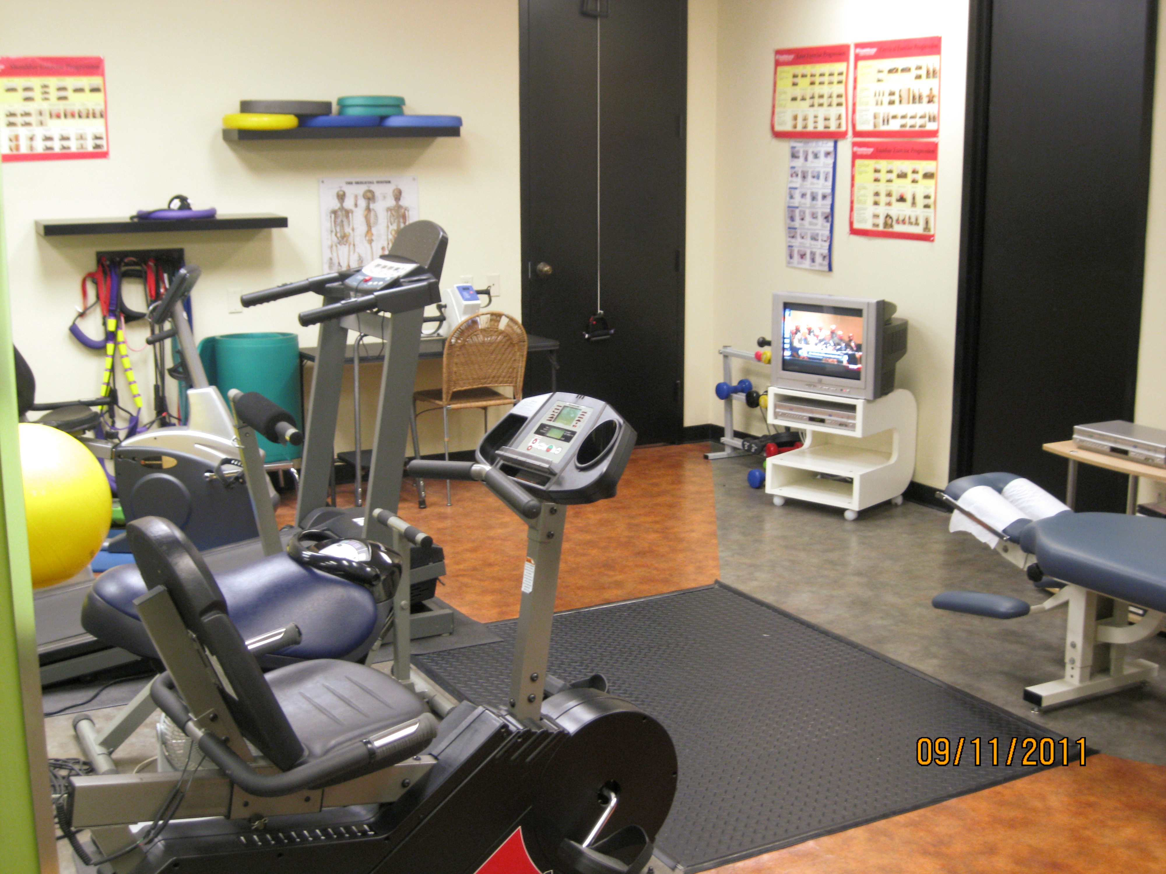 Exercise and Rehabilitation Gym